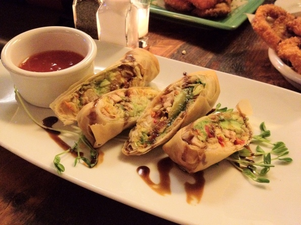 2 California Egg Rolls