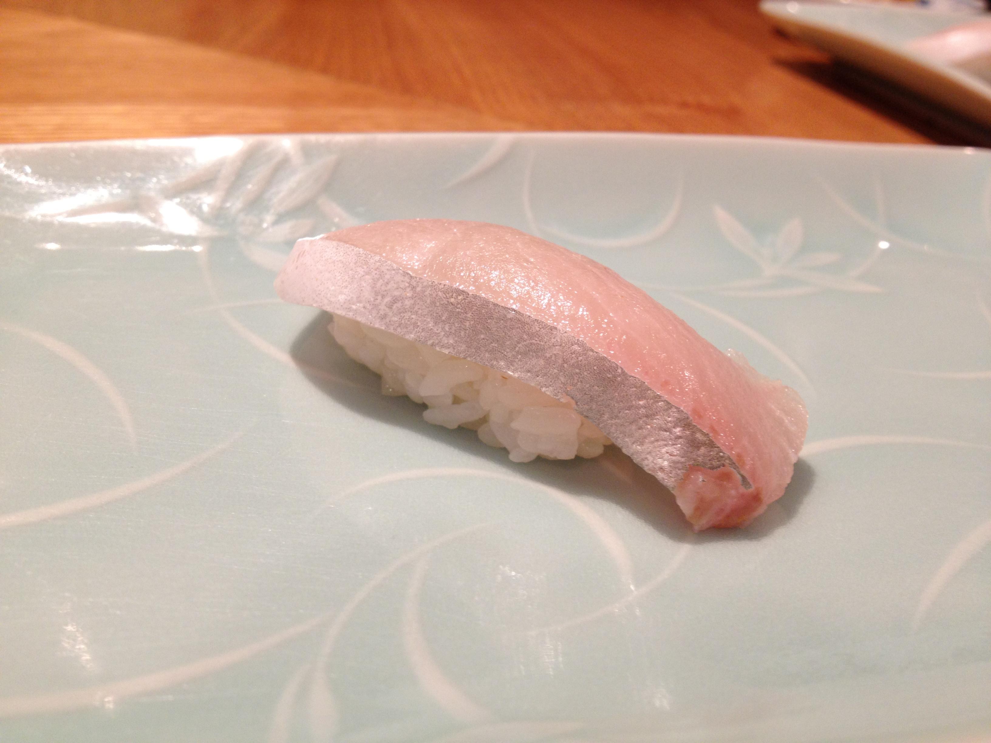 Yellowtail Belly Sushi NYC Sushi: Kurumazushi...