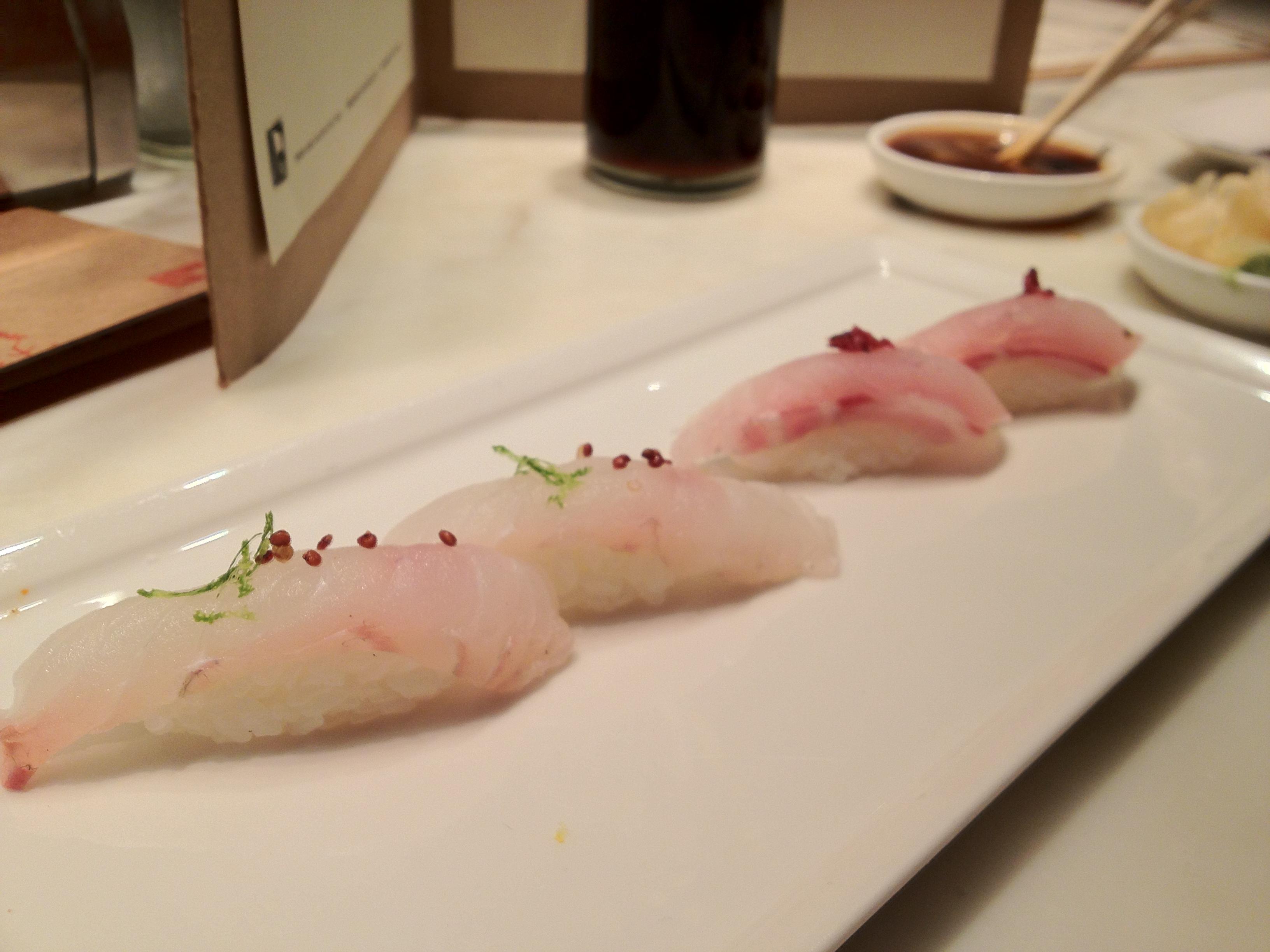 Houston Sushi: Uchi (Mar. 2013)   Happy Noms