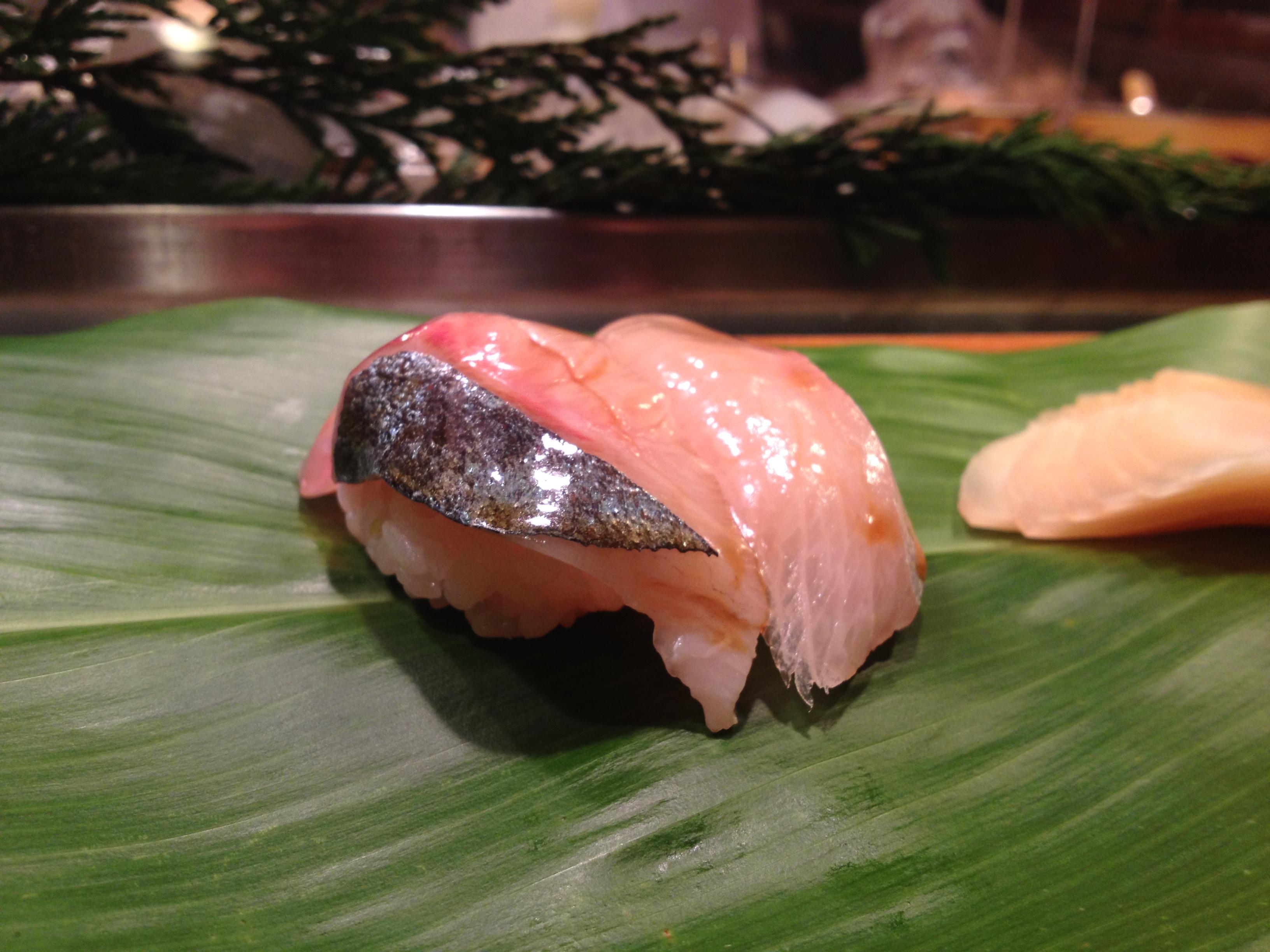 Yellowtail Belly Sushi NYC Sushi: Hatsuhana (...