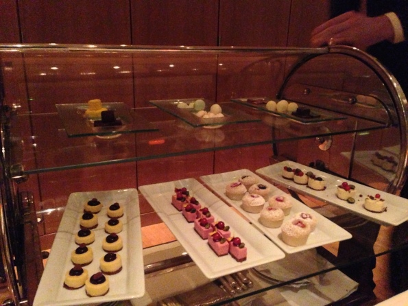 14 Petits fours trolley