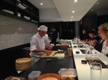 23 Chef Preparing Tamago