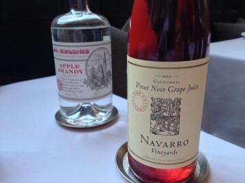 23 Brandy and Pinot Noir Grape Juice
